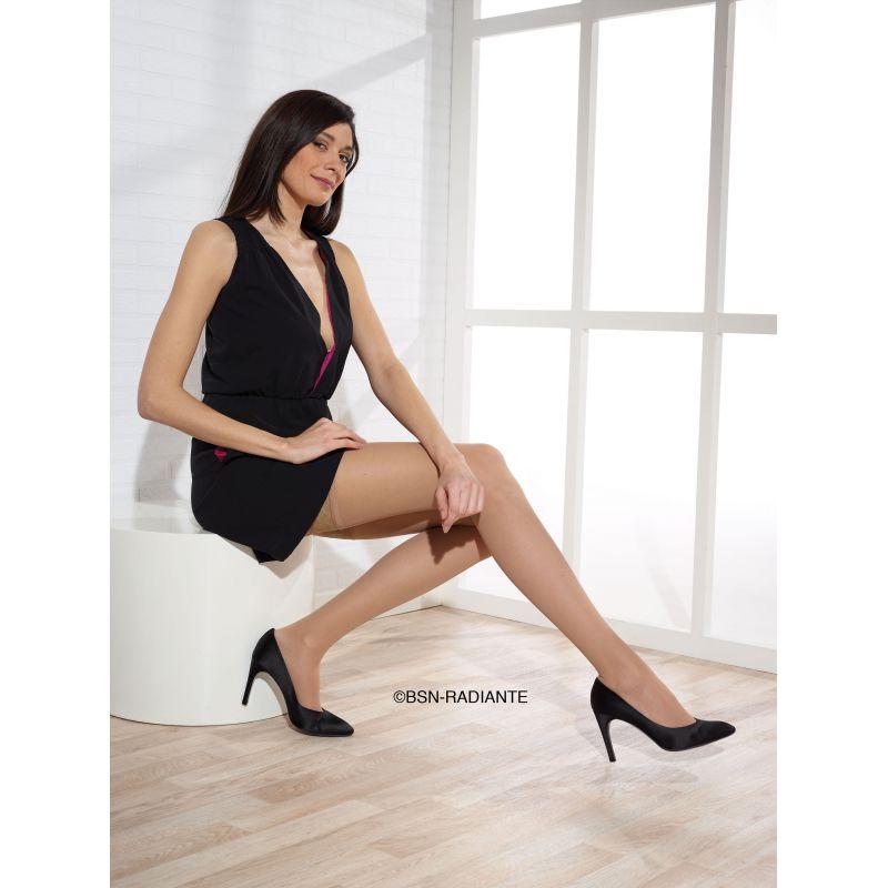 collants de contention radiante microvoile classe 2. Black Bedroom Furniture Sets. Home Design Ideas