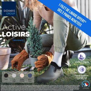 Chaussettes de contention Active Loisirs (Bambou) (Femme) Classe 2