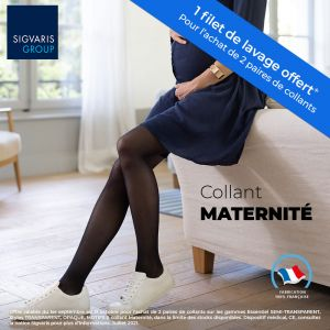 Collant Maternité Transparent Classe 2