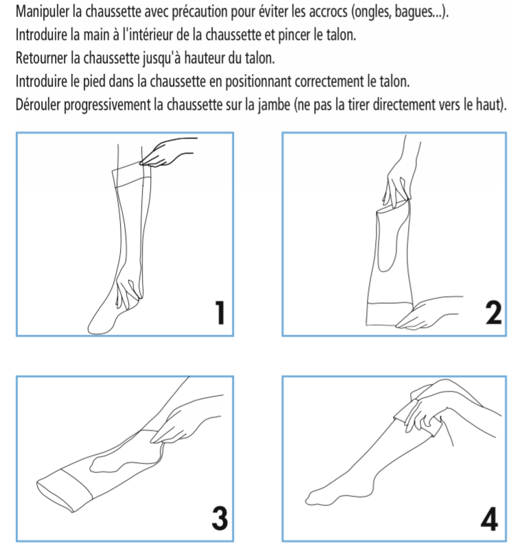 conseils enfilage sigvaris
