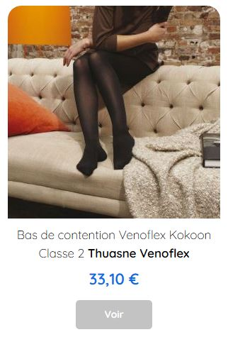 Bas de contention Venoflex Kokoon Thuasne
