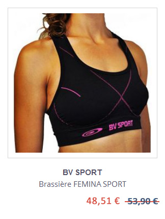 Brassiere Femina BV Sport