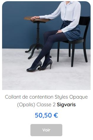 Collant de contention Opaque Sigvaris