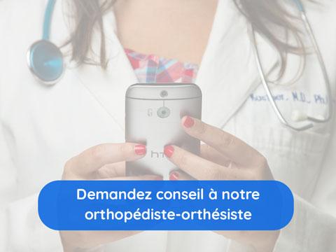 Contacter un orthopédiste-orthésiste