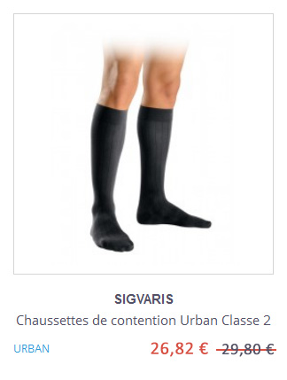 Chaussettes de contention Urban Sigvaris