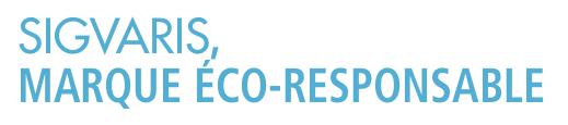 sigvaris marque éco-responsable