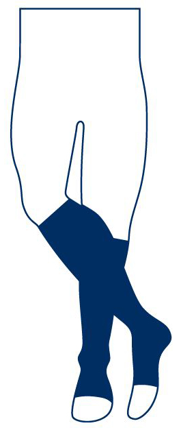 Chaussettes pieds ouverts Instinct Coton