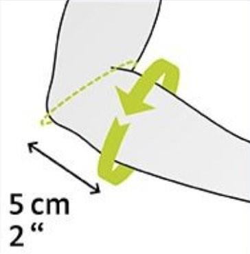 prise de mesure pour la coudière epicomed E+Motion